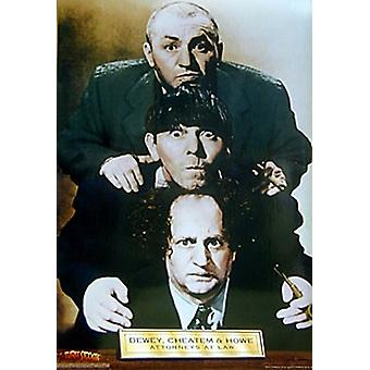 Drei Stooges Rechtsanwälte Poster Print (24 x 36)