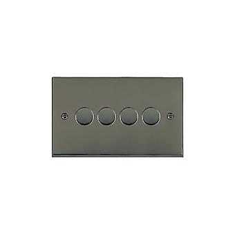 Hamilton Litestat Cheriton Victorian Black Nickel 4g 100W LED Dimmer BK