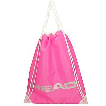 Senhoras ginásio saco de ombro 901968 - fúcsia têxtil - único tamanho