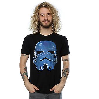 حرب النجوم الرجال & apos;s Stormtrooper الفضاء تي شيرت