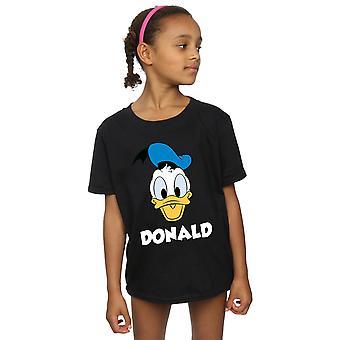 Disney Girls Donald Duck Face T-Shirt