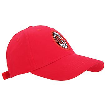 AC Milan Official Core Football Crest Baseball Cap