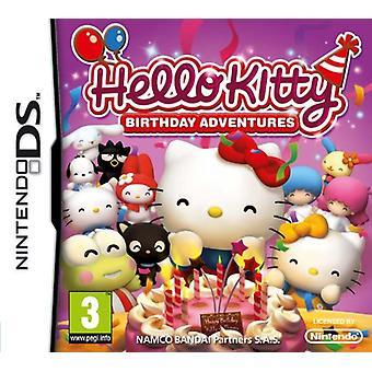 Hello Kitty Birthday Adventures (Nintendo DS) - Neu