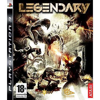 Legendary (PS3) - New