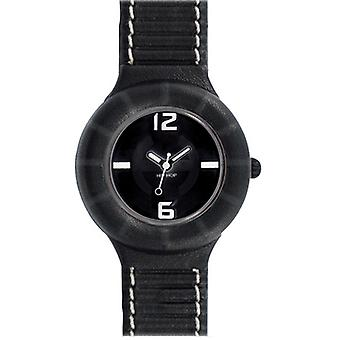 Hip hop watch silicone watch of leather small HWU0204 nero