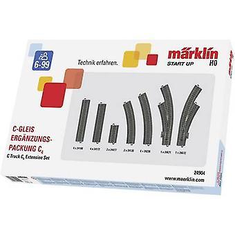 H0 Märklin C (بما في ذلك السرير المسار) 24904 توسيع مجموعة C4