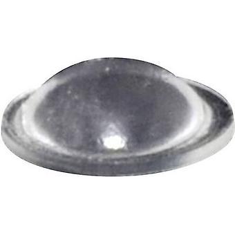 TOOLCRAFT PD9010C picior autoadeziv, hemisperical transparent (Ø x H) 10 mm x 3,1 mm 1 buc (e)