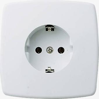 GAO 0301 Flush-mount socket Cream-white