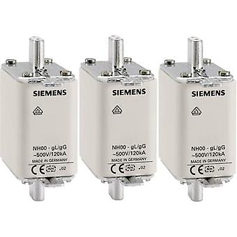 Siemens 3NA3830 NH fusible fusible taille = 000 100 A 500 V AC, 250 V AC