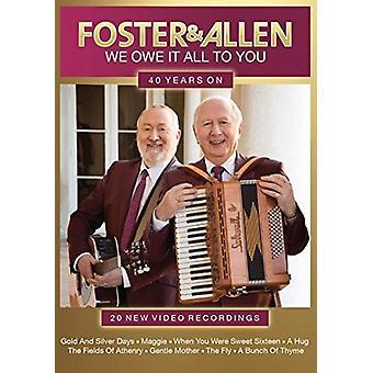 Foster & Allen - Foster & Allen-nous devons il tous pour vous: 40 [DVD] USA import
