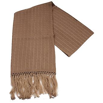 Knightsbridge cravatte maglia sciarpa di lana - Beige