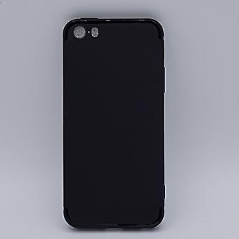 iPhone 5, 5 s, SE Fall-Solid schwarz