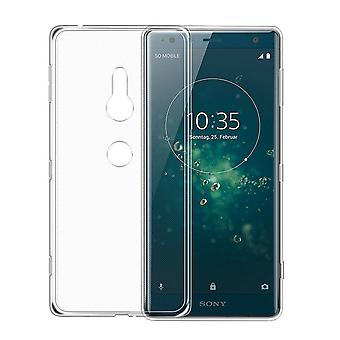 Colorfone Soft exclusieve TPU shell Sony Xperia XZ2 transparant