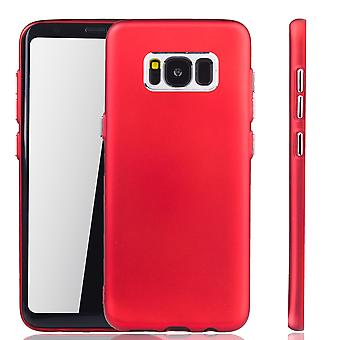 Samsung Galaxy S8 plus - matkapuhelin kotelo Samsung Galaxy S8 plus - liikkuva tapaus punainen