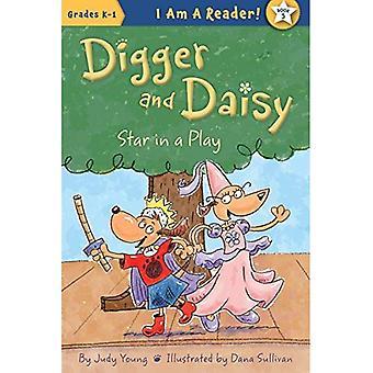 Étoiles dans une pièce de théâtre (Digger et Daisy)
