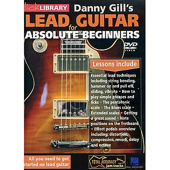 Danny Gill - Lead Guitar for Absolute Beginners [DVD] USA import