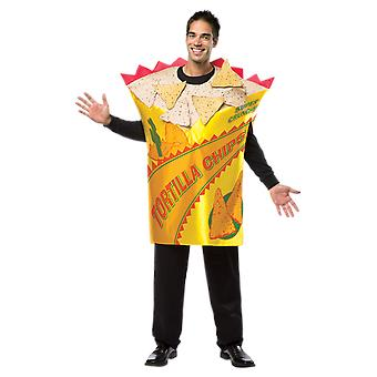 Adult Tortilla Chips Food Novelty Funny Fancy Dress Costume