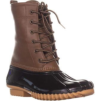 The Original Duck Boot Womens Ariel Closed Toe Mid-Calf Rainboots