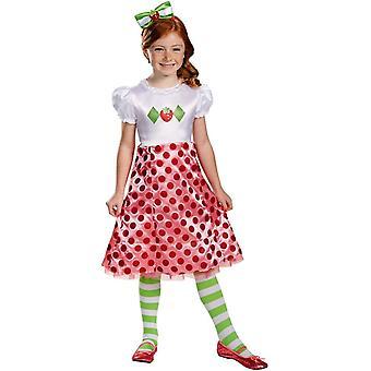 Strawberry Shortcake Girls Costume