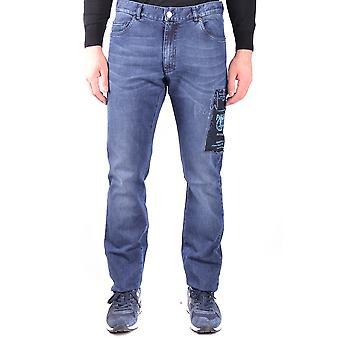 Paul & Shark Ezbc042060 Men's Blue Cotton Jeans