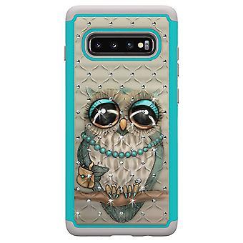 Samsung Galaxy S10 + TPU-Shell Armor Extra-Durable-OWL
