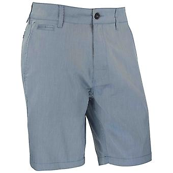 RVCA Mens Kontrolle OXO Hybrid Shorts - Bundes blau