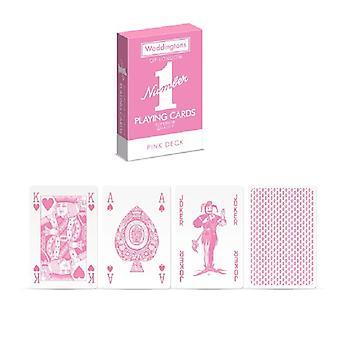Waddington's número 1 clásico de la tarjeta de juego de alta calidad PINK Edition
