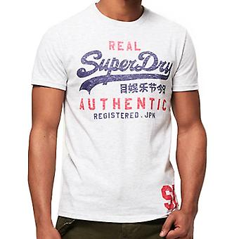Superdry Mens Vintage authentische Duo T-Shirt