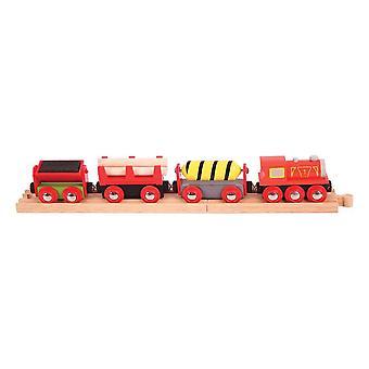 Bigjigs Wooden Railway Supplies Train