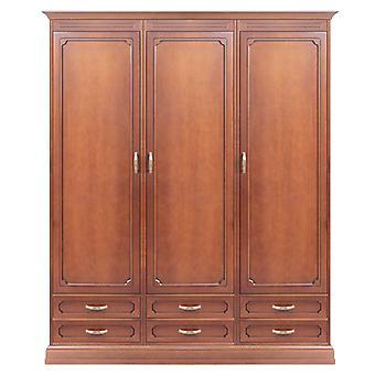 Wardrobe 3 Doors 6 Drawers Modular