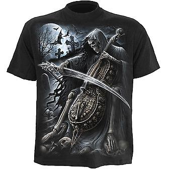 Spiral Direct Gothic SYMPHONY OF DEATH - T-Shirt Black Reaper TombStone Souls