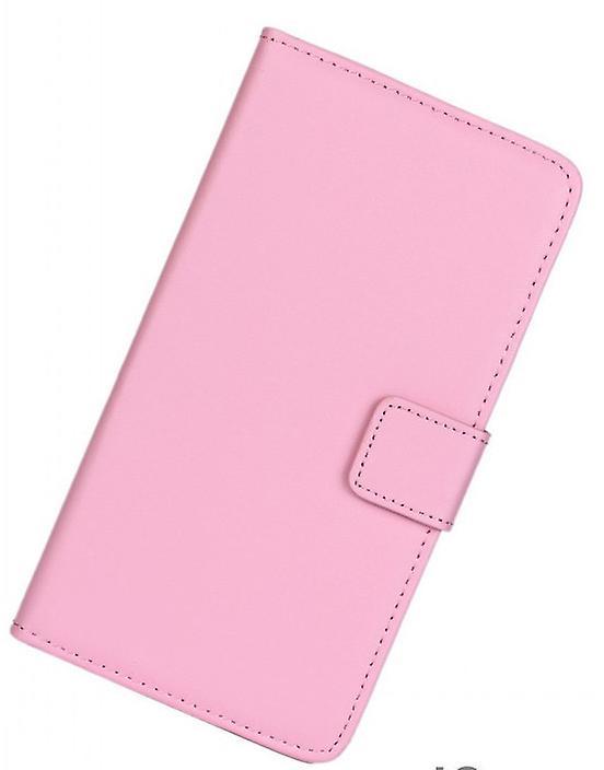 Plånboksfodral Äkta skinn Samsung Galaxy S4 Mini