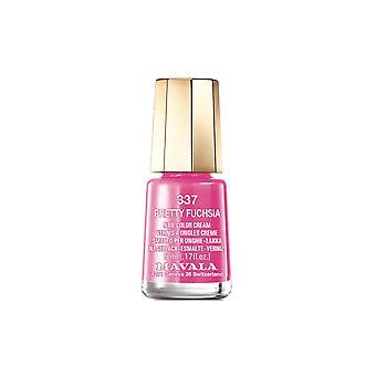 Mavala Mini Farbe Creme Nagellack Pretty Fuchsia (337) 5ml
