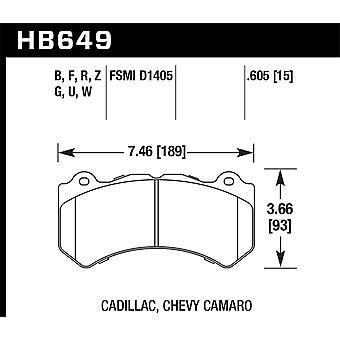 Hawk Performance HB649G.605 DTC-60
