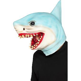 القرش العلوي قناع الأزرق اللاتكس، حزب الحيوانات يتوهم اللباس، حجم واحد