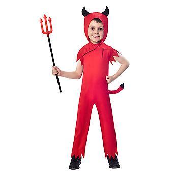 Jongens Childs duivel jongen Halloween fancy dress kostuum