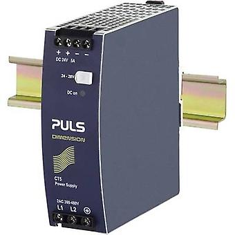 PULS DIMENSION CT5.241 Rail mounted PSU (DIN) 24 V DC 5 A 120 W 1 x