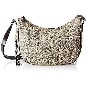 Borbonese Luna Bag Small Cross-body bag Donna Beige (Safari) 28x25x12 cm (W x H x L)