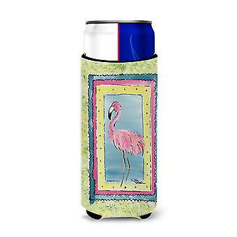 Bird - Flamingo Ultra Beverage Insulators for slim cans 8107MUK