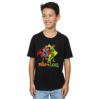 Marvel Boys Thor vs Loki T-shirt