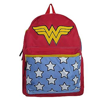 Wonder Woman Gürtelband roter Rucksack
