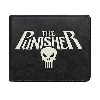 Punisher Logo and Symbols Bi-Fold Wallet