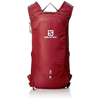 Salomon LC1085100 Trailblazer 10 Light Backpack hiking or cycling - Red (Biking Red) - 10 l