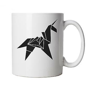 Origami Unicorn Blade Runner Movie Inspirado, Caneca Sci-Fi Presente para ela