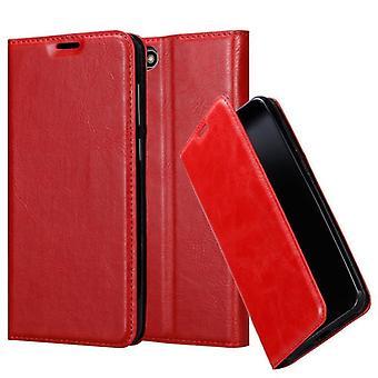 Cadorabo Case för Huawei y5 2018 fall Cover-telefon väska med magnetstängning, stand funktion och kort Case fack-Case täcker fall fall fall fall Bokvikning stil