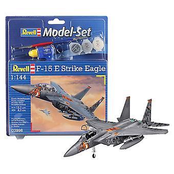 Revell 63996 62 stuks F-15E Eagle model set, 1:144 schaal, niveau 4,