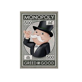 Poster - Monopoly - Money Wall Art Licensed Gifts Toys 241258