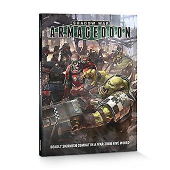 Taller de juegos Warhammer 40.000 sombra guerra Armagedón Rulebook