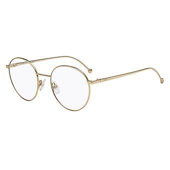 Fendi FF0353 J5G guld glasögon