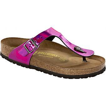 Birkenstock Kids Gizeh spejl pink 846903, single toe post Sandal